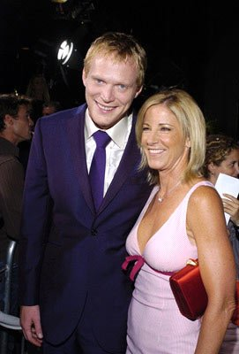 Paul Bettany and Chris Evert at the Beverly Hills premiere of Universal Pictures' Wimbledon