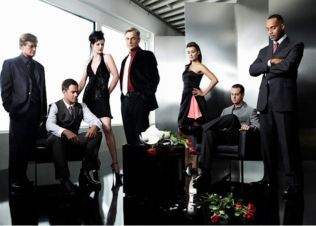 The cast of &quot;NCIS.&quot; 