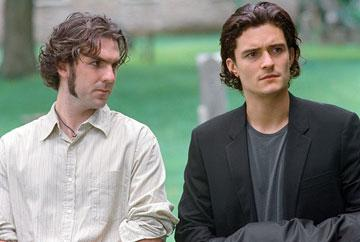 Paul Schneider and Orlando Bloom in Paramount Pictures' Elizabethtown