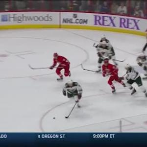 Devan Dubnyk Save on Jeff Skinner (19:00/2nd)