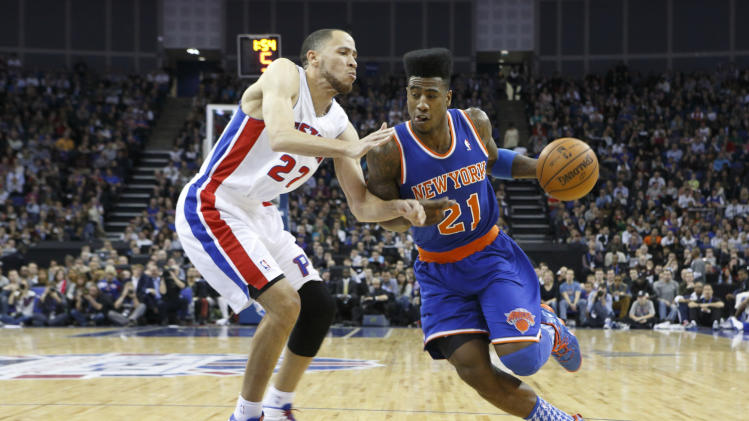 NBA: New York Knicks vs Detroit Pistons