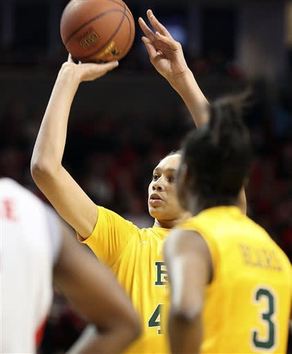 No. 1 Baylor routs Texas Tech 90-60
