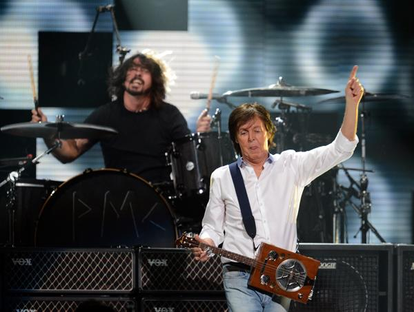 Nirvana-Paul McCartney Song Stems From Dave Grohl's 'Sound City' Documentary