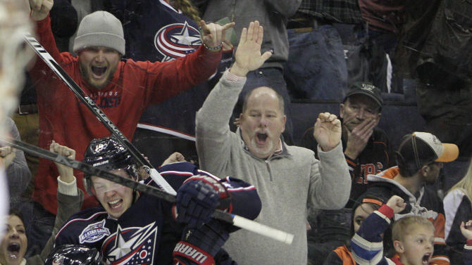 Connauton's 1st goal lifts Blue Jackets in OT, 3-2
