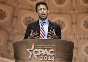 Louisiana Gov Jindal attends Conservative Political Action Conference in Oxon Hill