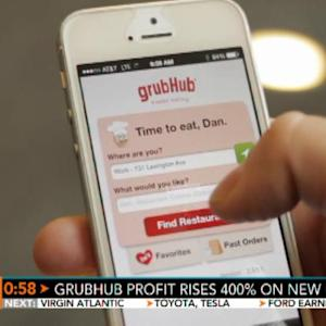 GrubHub Delivers 400% Profit Increase on New Users