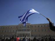 Greek premier rushes to Brussels to secure bailout