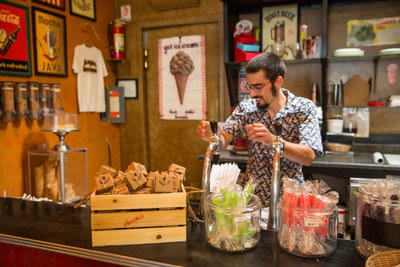 Locals and tourists alike visit Jezebel Fine Art & Wrought Iron in Madrid, New Mexico not just for the artwork, but for the ice cream, soda fountain, ...