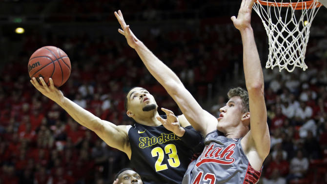 No. 25 Utah tops No. 8 Wichita State 69-68 in OT