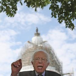 Bernie Sanders Takes It to Wall Street With Financial Transactions Tax