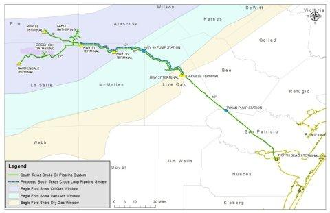 NuStar Energy L.P. Announces Binding Open Season for Proposed South Texas Crude Oil Pipeline System Project
