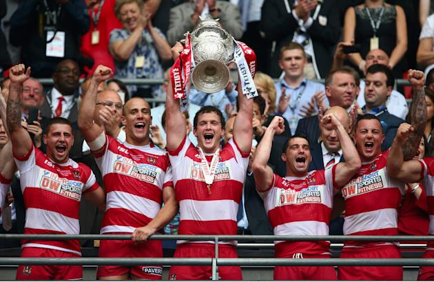 Wigan Warriors v Hull FC - Tetley's Challenge Cup Final