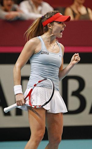 Bencic wins to put Switzerland level with France
