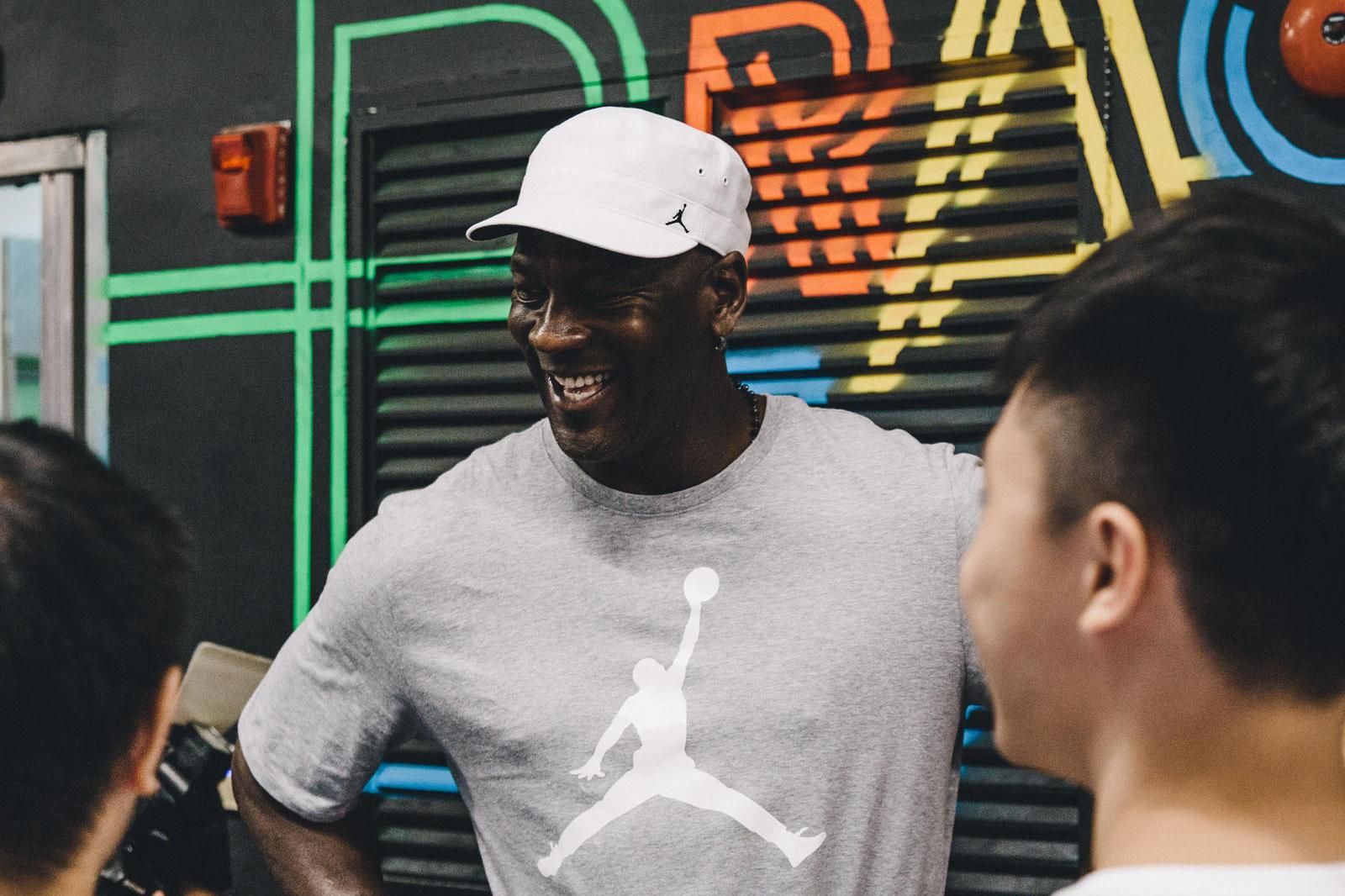 Michael Jordan's Wearing a Pair of Js That Haven't Come Out Yet