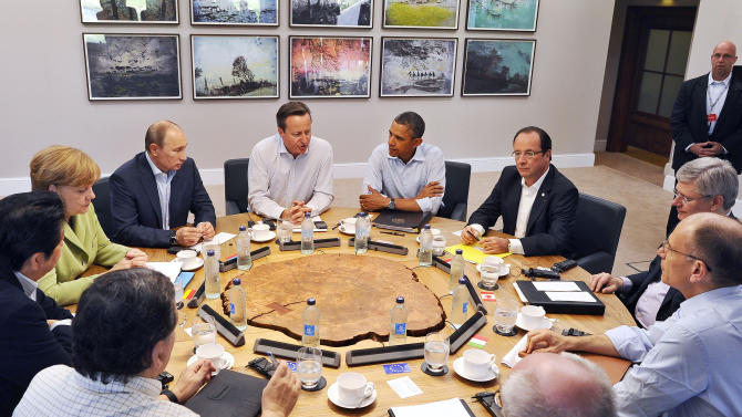 G-8 agrees plan to promote Syrian peace talks