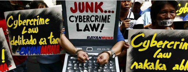 Cybercrime protests