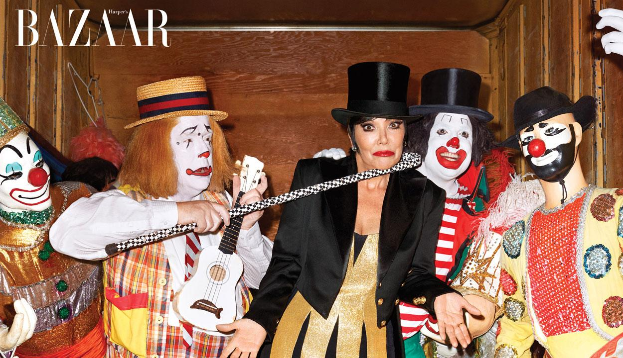 Kris Jenner Poses as Sexy Circus Ringleader, Opens Up About Her Relationship With Caitlyn