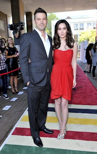 Brian Austin Green y Megan Fox/ WireImage