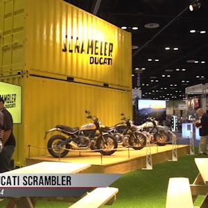 2015 Ducati Scrambler Video from AIMExpo 2014
