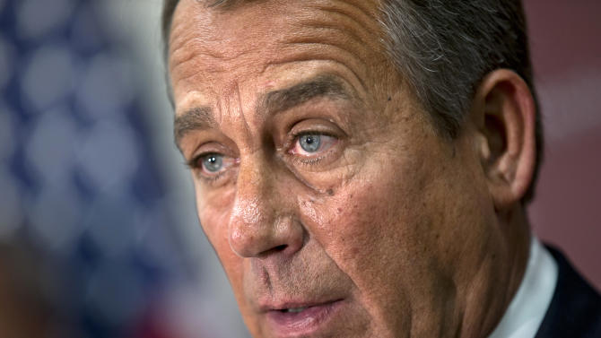 Obama, Boehner speak by phone on fiscal cliff