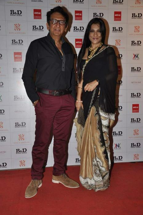 Bharat and Doris Godambe's makeup awards