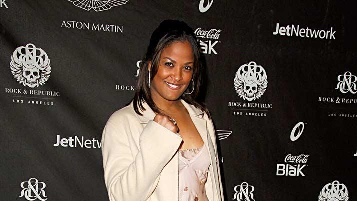 Laila Ali  at the Rock & Republic's Fall 2006 Exhibition of Fashion Begins the New Era.