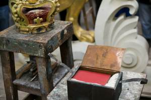 The contents of a 113-year-old time capsule