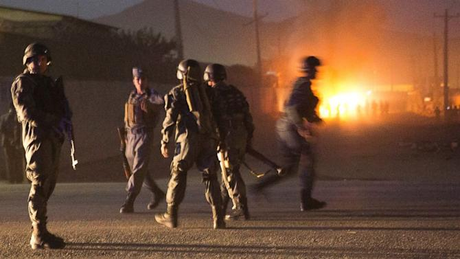 Kabul Car Bomb Targets Foreigners' Compound