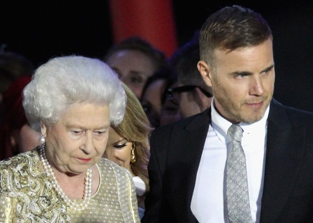 Gary Barlow, Queen, Diamond Jubilee Concert