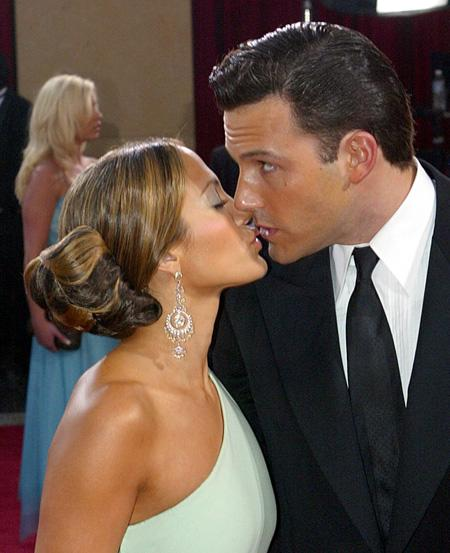 2. Ben Affleck and Jennifer Lopez
