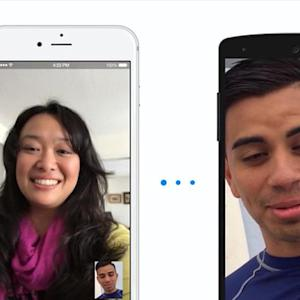 Video calling now on Facebook messenger