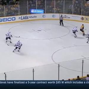 Martin Jones Save on Shea Weber (08:25/1st)