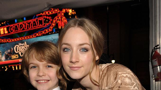 The Lovely Bones LA Premiere 2009 Christian Thomas Ashdale Saoirse Ronan