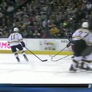 Bruins at Blue Jackets / Game Highlights