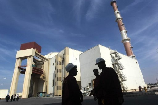 "The reactor building at Iran's Bushehr nuclear power plant is pictured on October 26, 2010. Russia has put pressure on Iran by noting that it expected to see ""serious progress"" made at this month's talks in Kazakhstan over Tehran's disputed nuclear programme"
