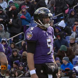 'Sound FX': Baltimore Ravens quarterback Joe Flacco