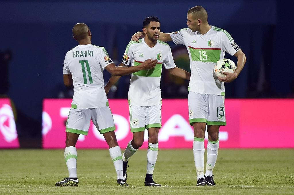 Mahrez scores twice but Algeria held by Zimbabwe