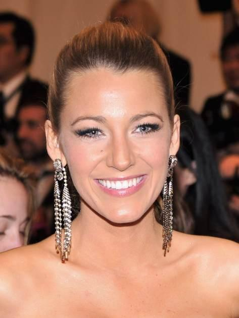 Blake Lively attends the Costume Institute Gala for the 'PUNK: Chaos to Couture' exhibition at the Metropolitan Museum of Art on May 6, 2013 in New York City -- FilmMagic