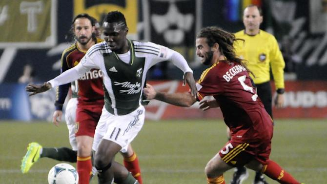 Timbers, Real Salt Lake play to 0-0 tie