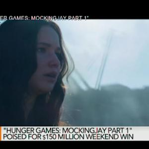 Can `Mocking Jay' Satisfy Hunger for Blockbusters?