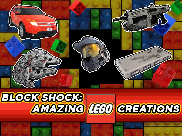 Block Shock: Amazing Lego Creations