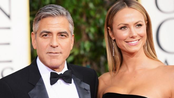George Clooney returns to being America's boyfriend.