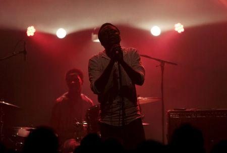 Malian quartet Songhoy Blues sing lovesongs to their homeland in exile