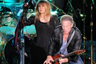 Stevie Nicks and Lindsey Buckingham of Fleetwood Mac perform in London.  Read more: http://www.rollingstone.com/music/news/q-a-stevie-nicks-and-lindsey-buckingham-reveal-lingering-tensions-in-fleetwood-mac-20121205#ixzz2EJ6518lo Follow us: @rollingstone on Twitter | RollingStone on Facebook