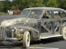 Slideshow: Transparent 'Ghost Car' sold at auction