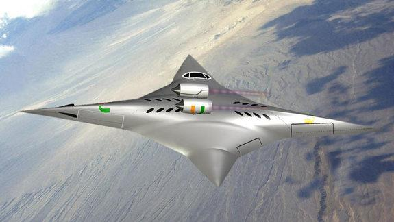 Supersonic Flying Wing Nabs $100,000 from NASA