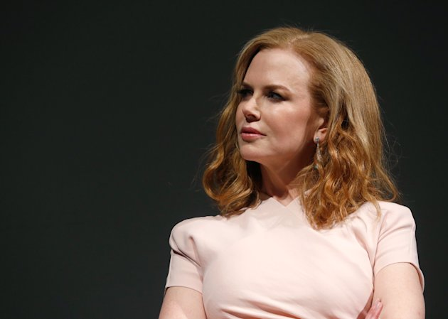 "<p>               IMAGE DISTRIBUTED FOR FOX SEARCHLIGHT - Actress Nicole Kidman speaks onstage at Fox Searchlight's ""The Stoker"" premiere during the Sundance Film Festival on Sunday, Jan. 20, 2012 in Park City, Utah. (Photo by Todd Williamson /Invision for Fox Searchlight/AP Images)"