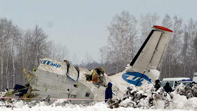 Dramatic Plane Crash Kills Dozens in Siberia (ABC News)