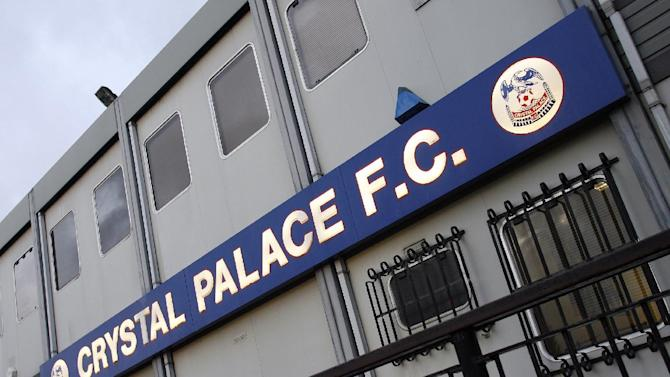 A general view shows the exterior of Crystal Palace's stadium at Selhurst Park in south London, on February 2, 2010