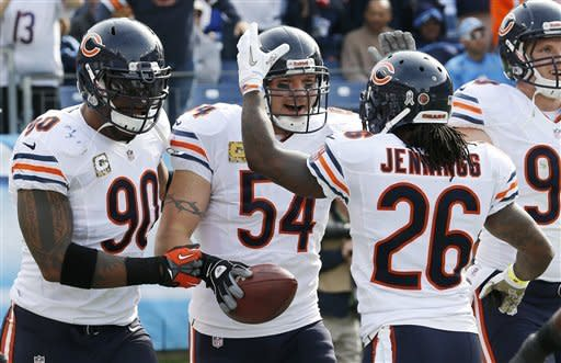 Bears force 5 turnovers, rout Titans 51-20